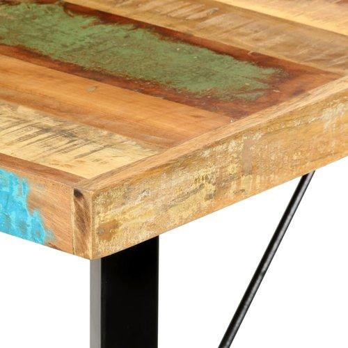 Bartafel 180x70x107 cm massief gerecycled hout