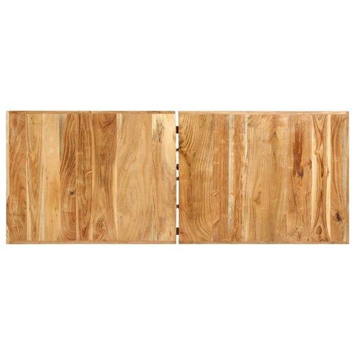 Bartafel 180x70x107 cm massief acaciahout