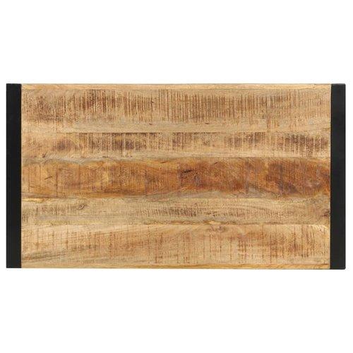 Bartafel 110x60x110 cm massief mangohout