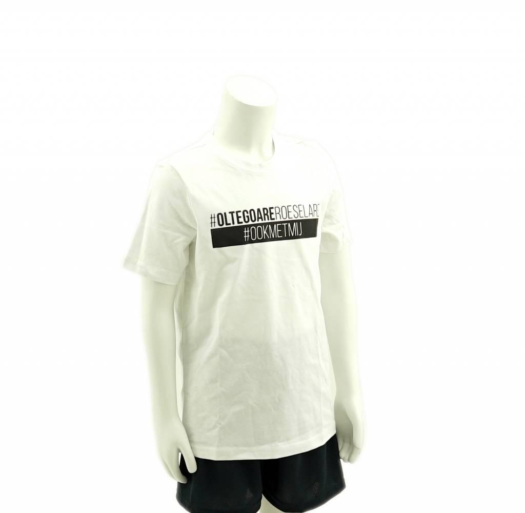 T-shirt Kids white - KSV Roeselare