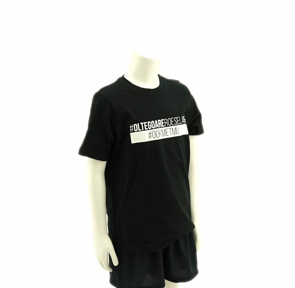T-shirt Kids zwart - KSV Roeselare