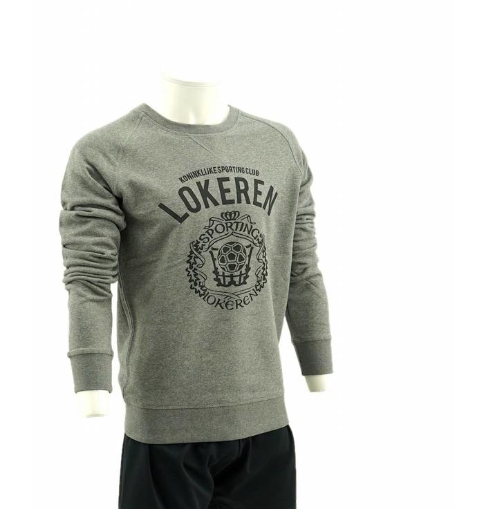 Sweater grey logo