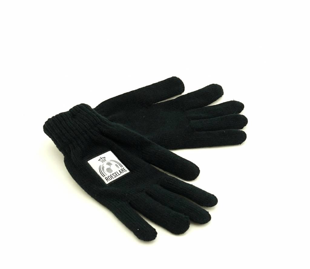 Handschoenen zwart - JR - KSV Roeselare