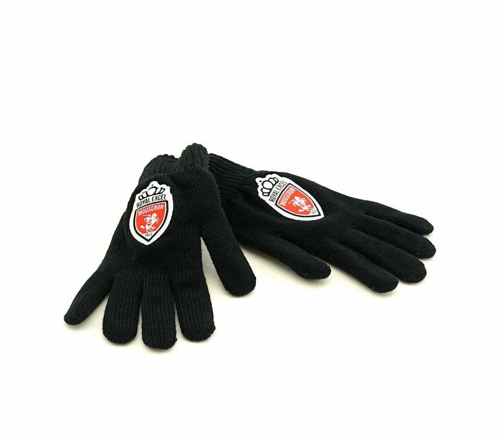 Glove black - JR - Mouscron