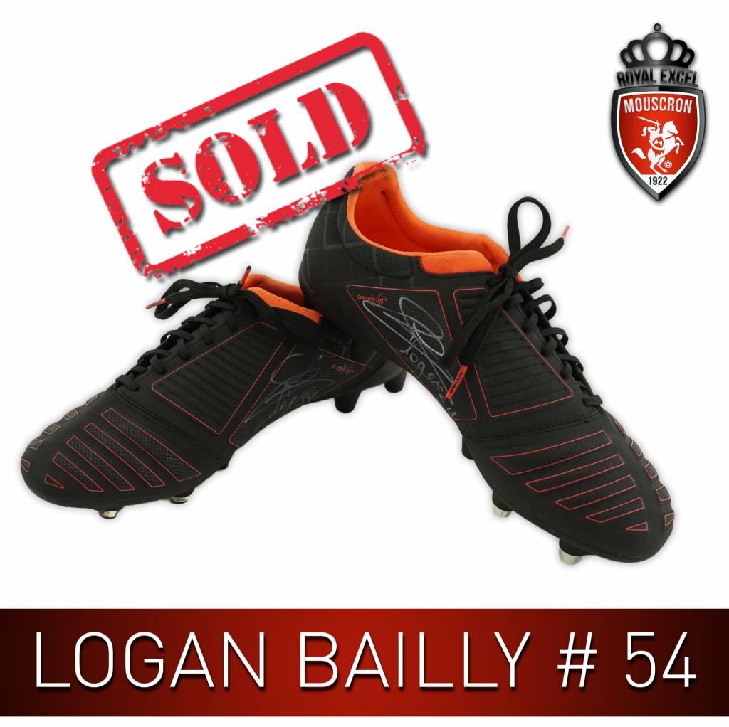 Gesigneerde Voetbalschoenen Logan Bailly #54
