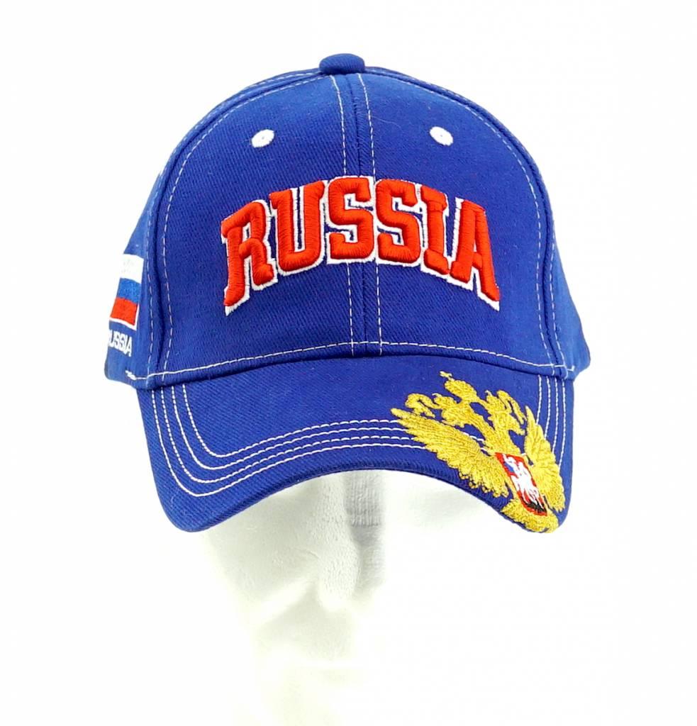 Cap Russia blue