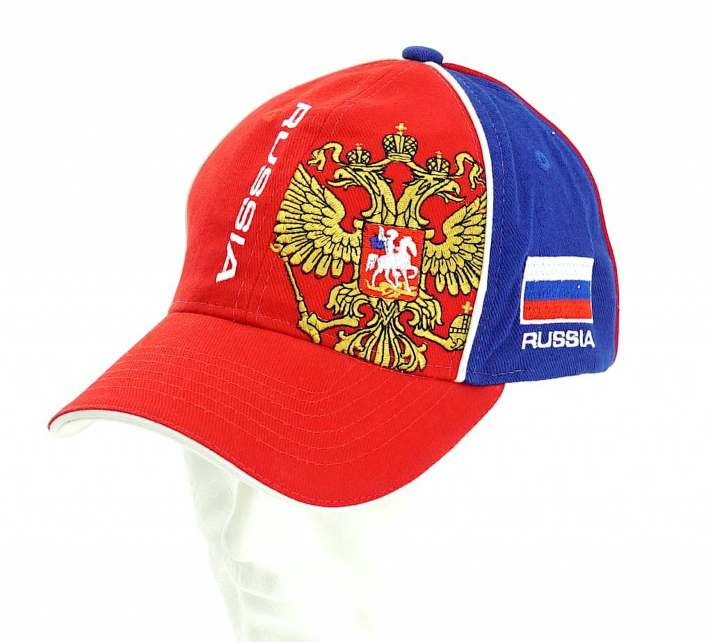 Casquette Russie rouge