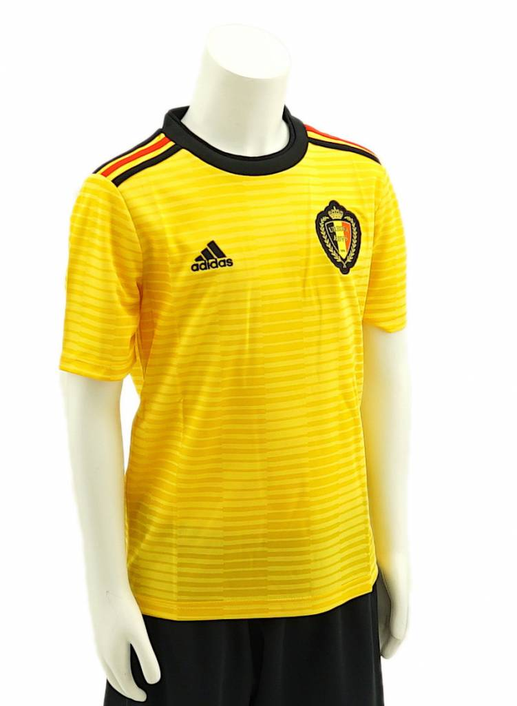 Shirt Belgian Red Devils World Cup 2018 kids - away shirt yellow