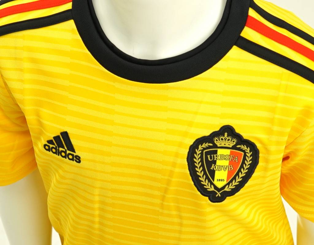 86c317537c6 ... Shirt Belgian Red Devils World Cup 2018 kids - away shirt yellow ...