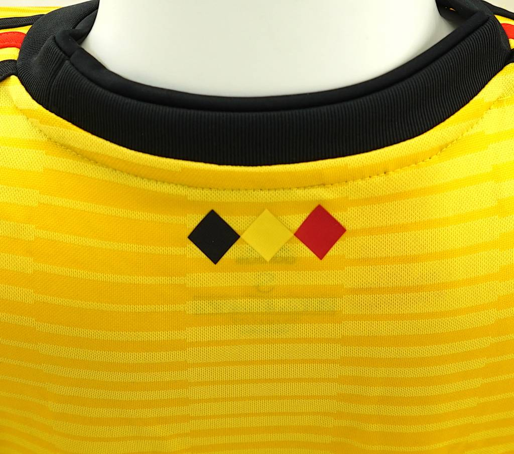 a04f64090fd ... Shirt Belgian Red Devils World Cup 2018 kids - away shirt yellow