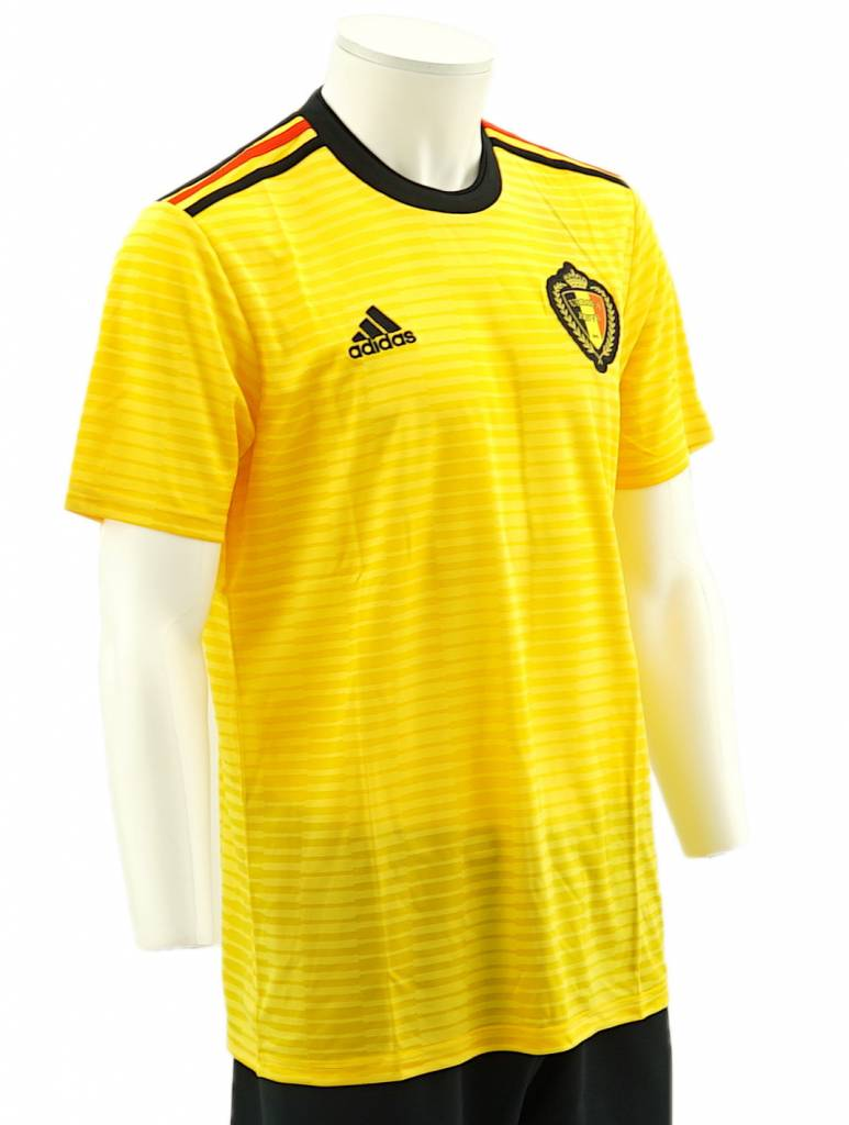 ce0ea0d0504 ... Shirt Belgian Red Devils World Cup 2018 - (Yellow away jersey) ...