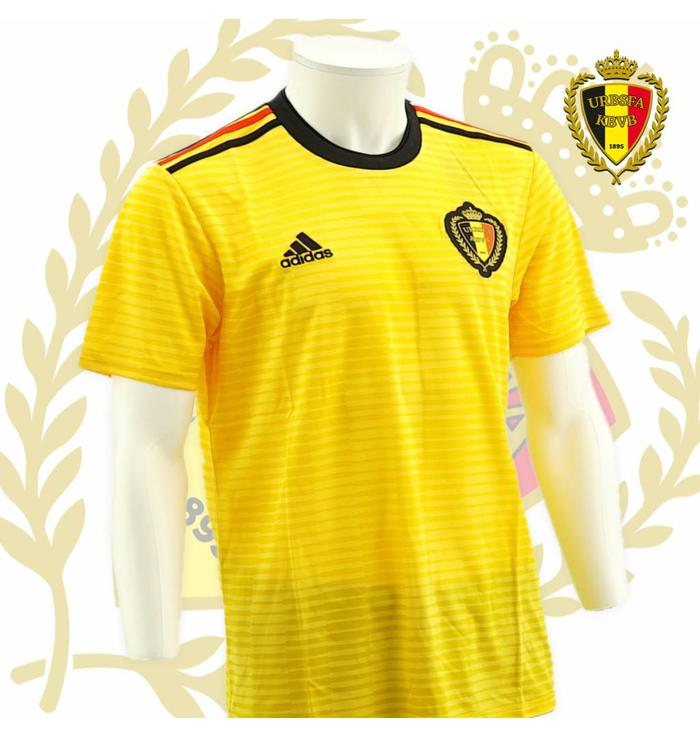 Shirt Belgian Red Devils - (Yellow away jersey)