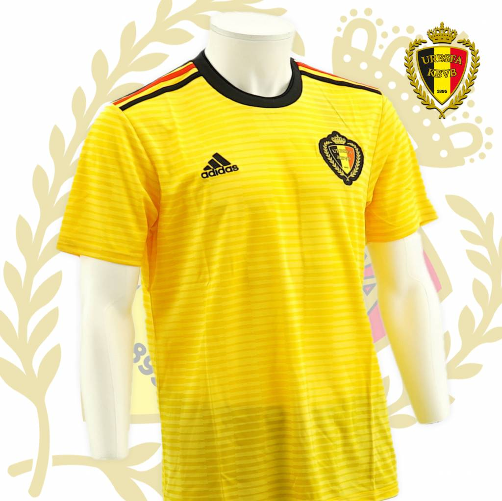30fc77b16 Shirt Belgian Red Devils World Cup 2018 - (Yellow away jersey) ...