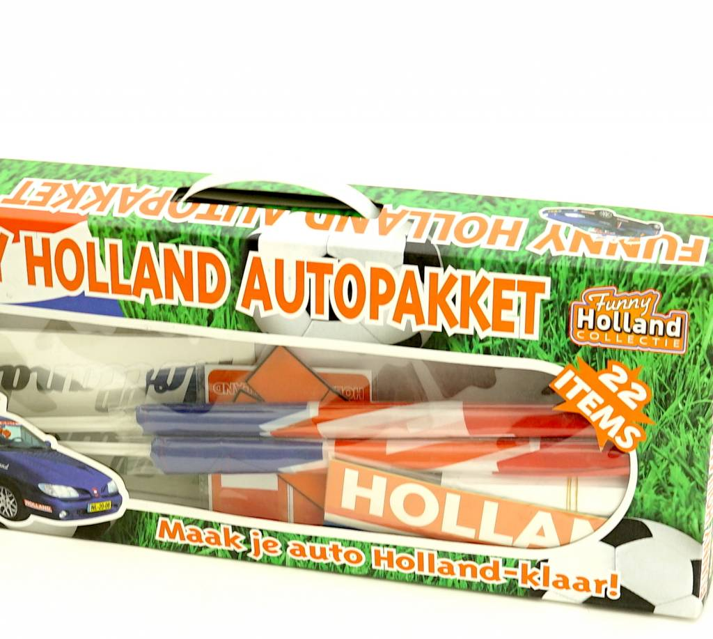 Pack voiture Pays-Bas (22 articles)