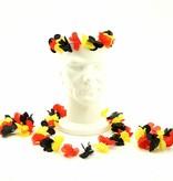 Hawaii Flower set Belgium 3-pieces Head - Neck - Wrist