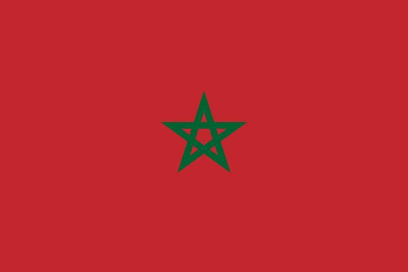 Vlag Marokko (200 x 150 cm)
