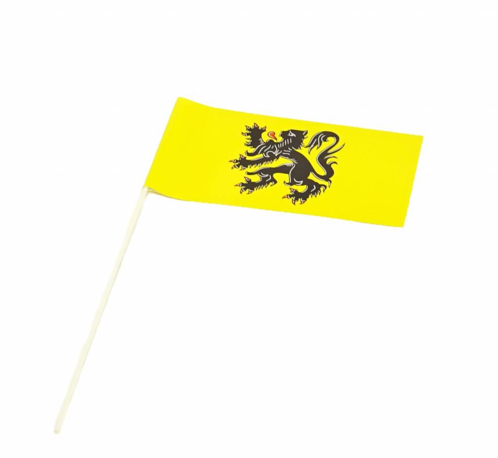 Wave flags Flanders (50 pcs)
