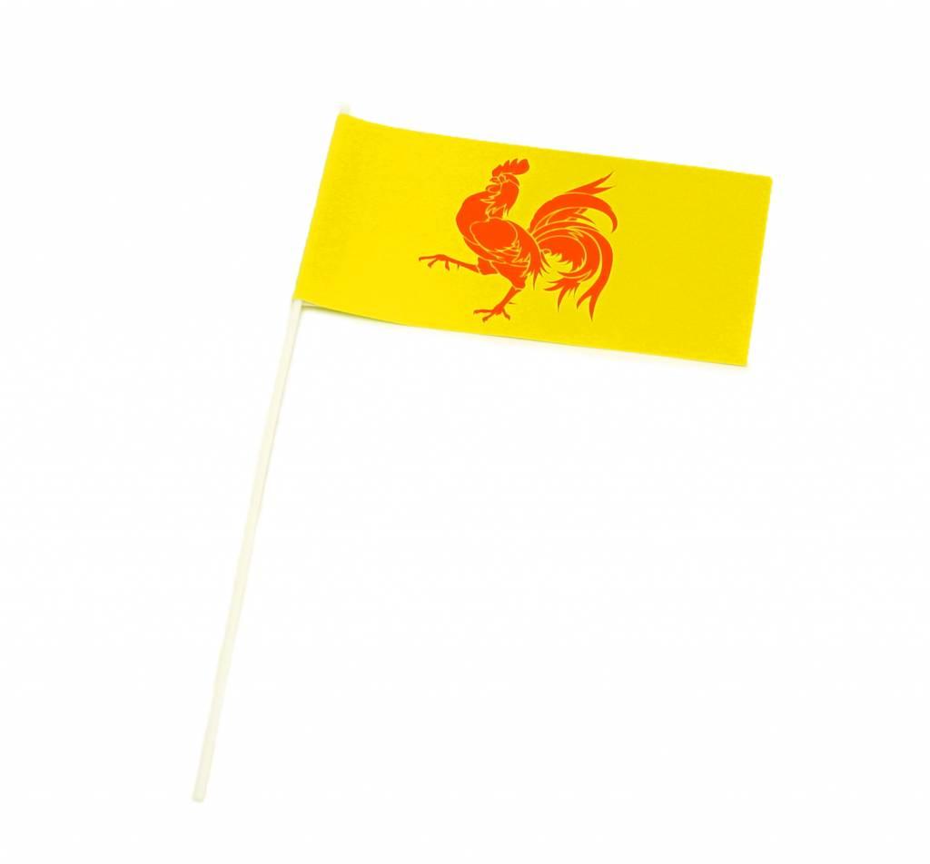 Drapeaux à main Wallonie (50pcs)