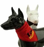 Hondensjaal zwart Belgium