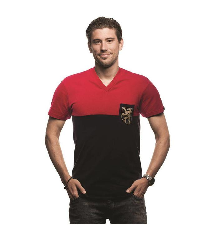 Belgium Pocket V-neck