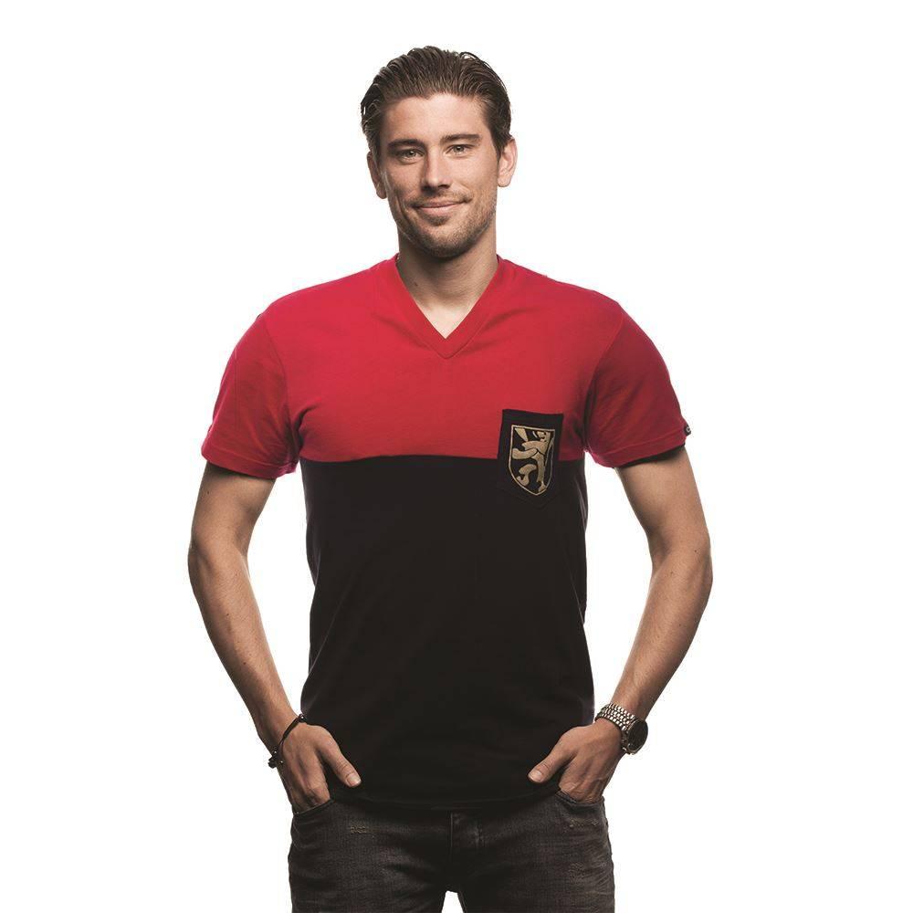 Belgium Pocket V-neck