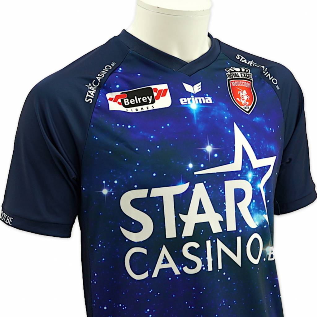 Away shirt Royal Excel Mouscron 2018 - 2019