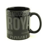 Mok zwart Royal Excel Moeskroen