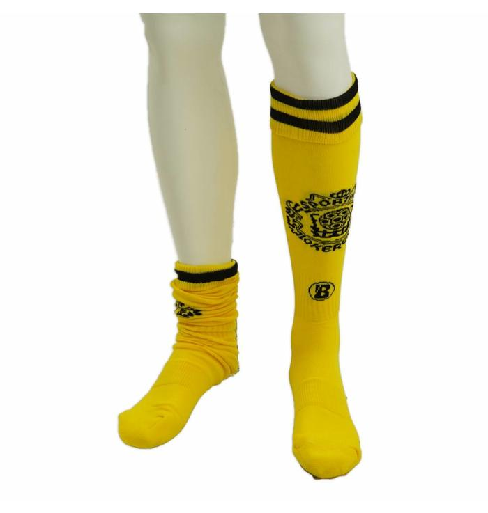 Beltona yellow socks