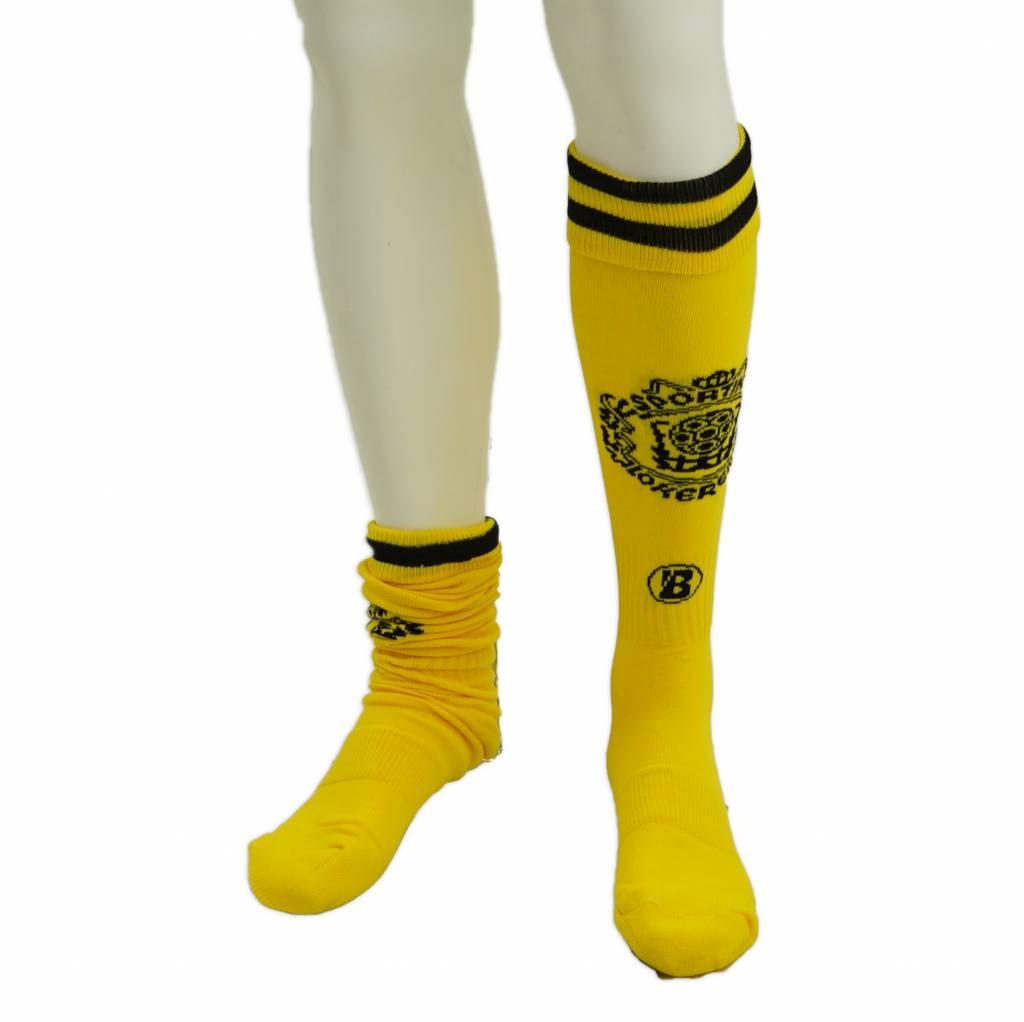 Beltona yellow socks Sporting Lokeren