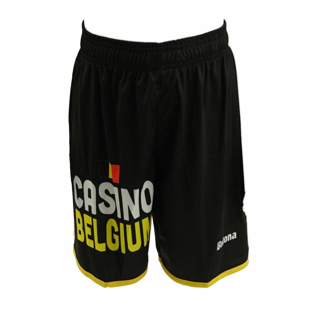 Official short zwart - kids Sporting Lokeren