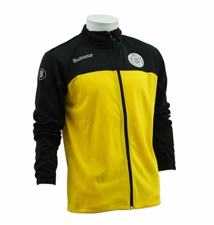 Trainings jack geel/zwart