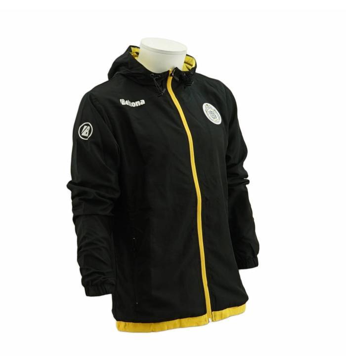 Jacket de presentation noir/jaune