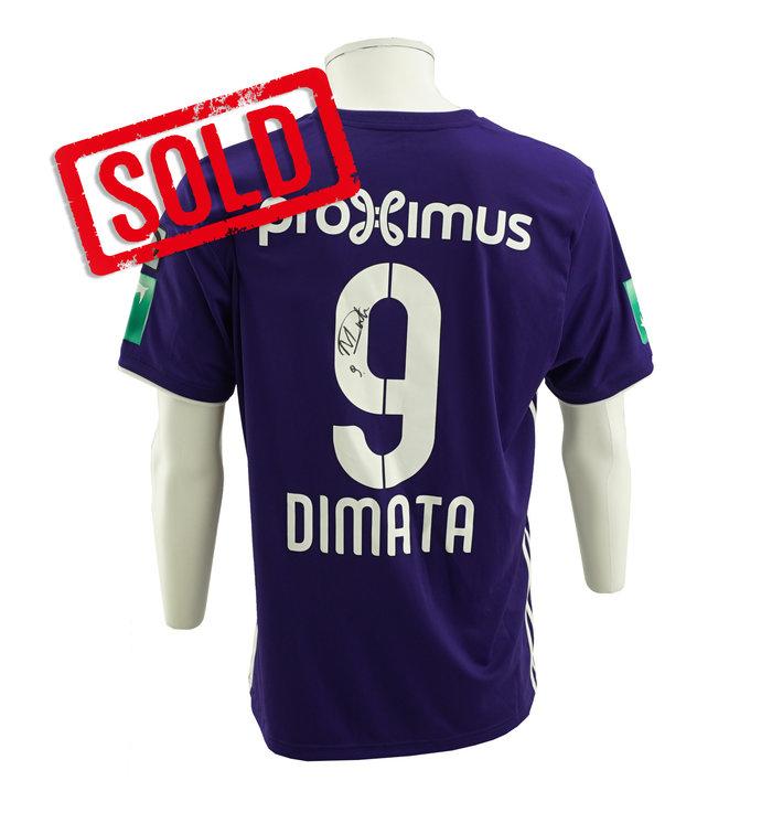 Gesigneerd shirt - RSCA Anderlecht / Dimata