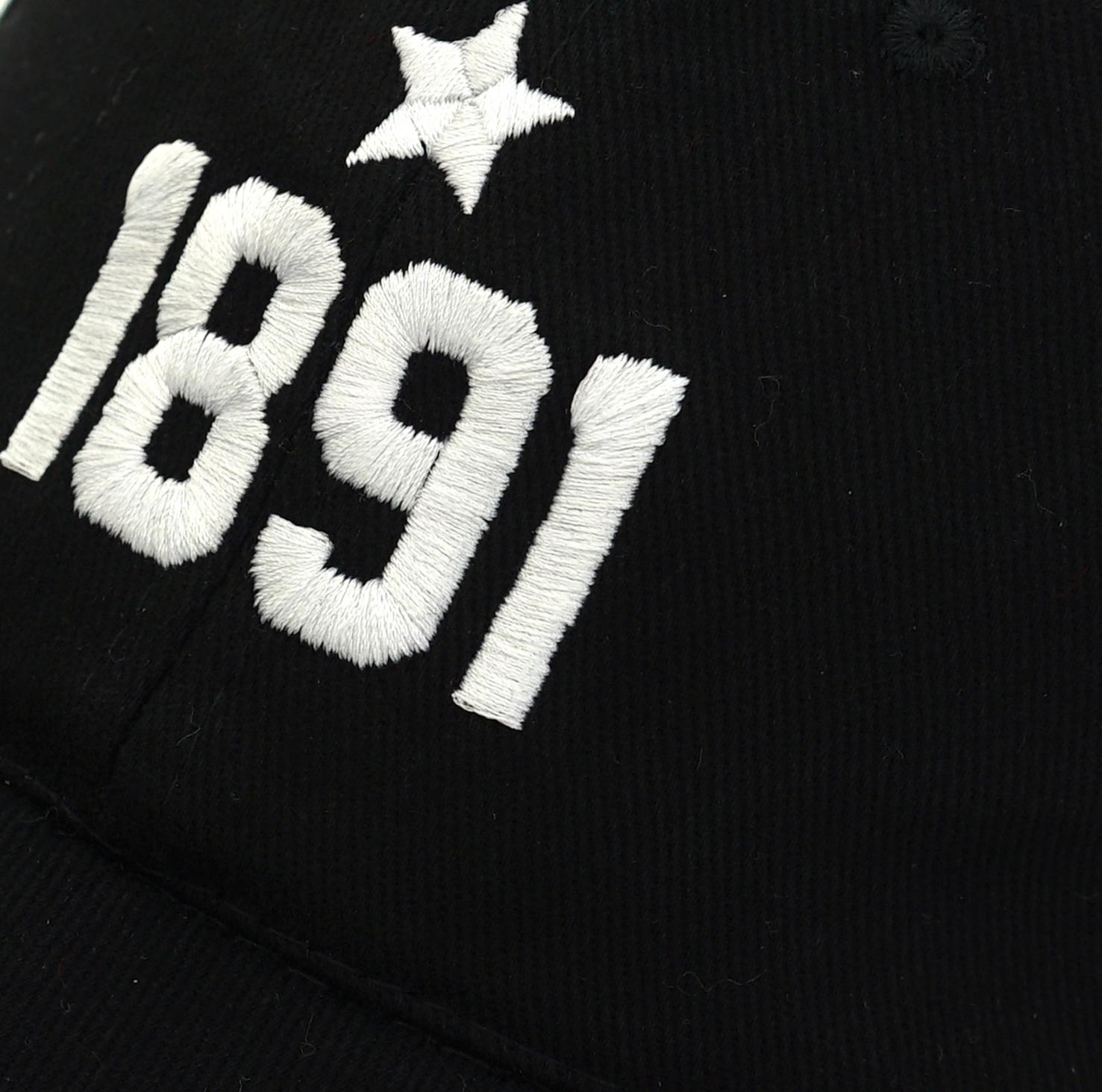 Cap black 1891