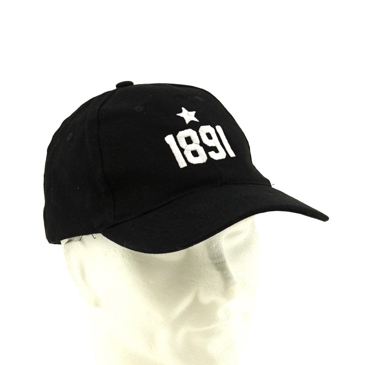 Casquette noir 1891