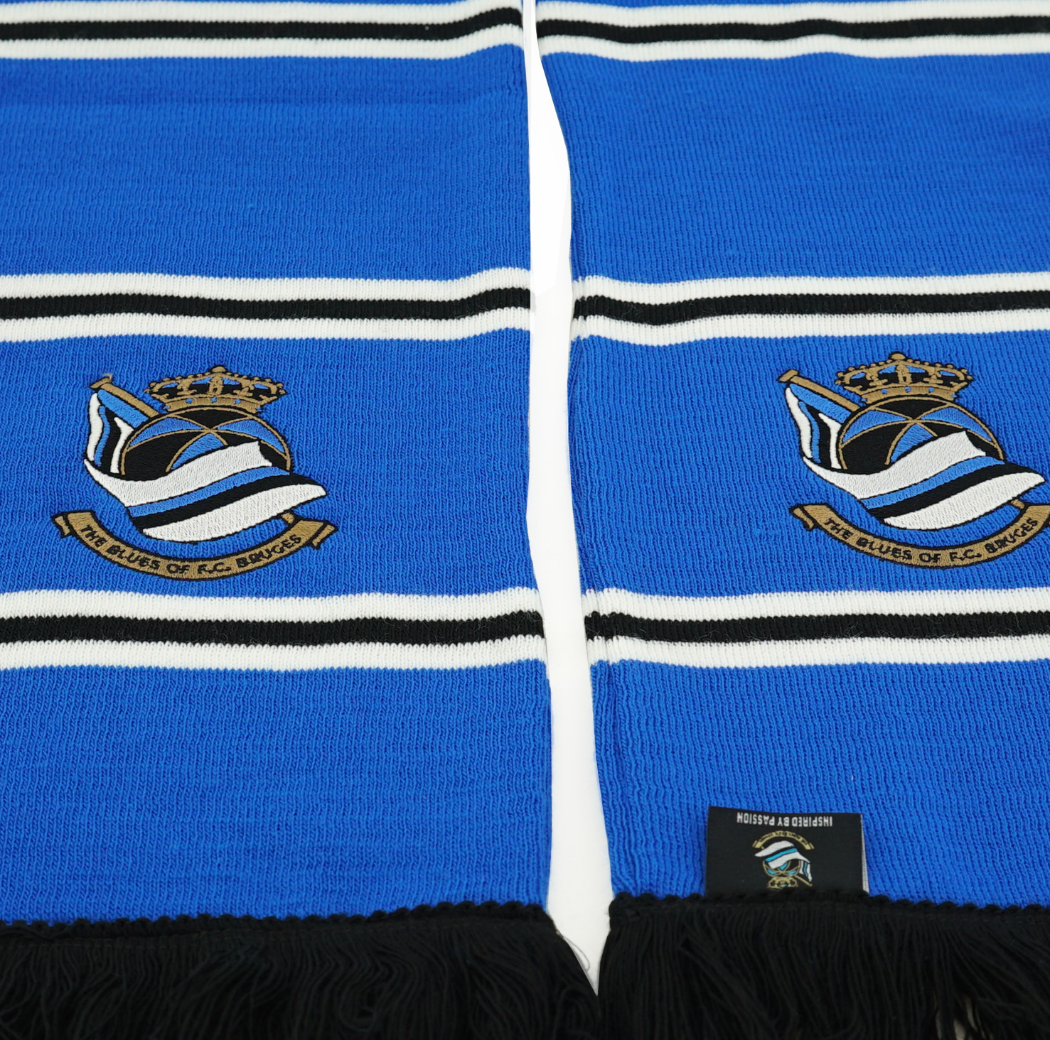 Blokkensjaal blauw - Blues FCB