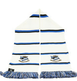Echarpe à bloc blanche - Blues FCB