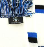 Block scarf white - Blues FCB