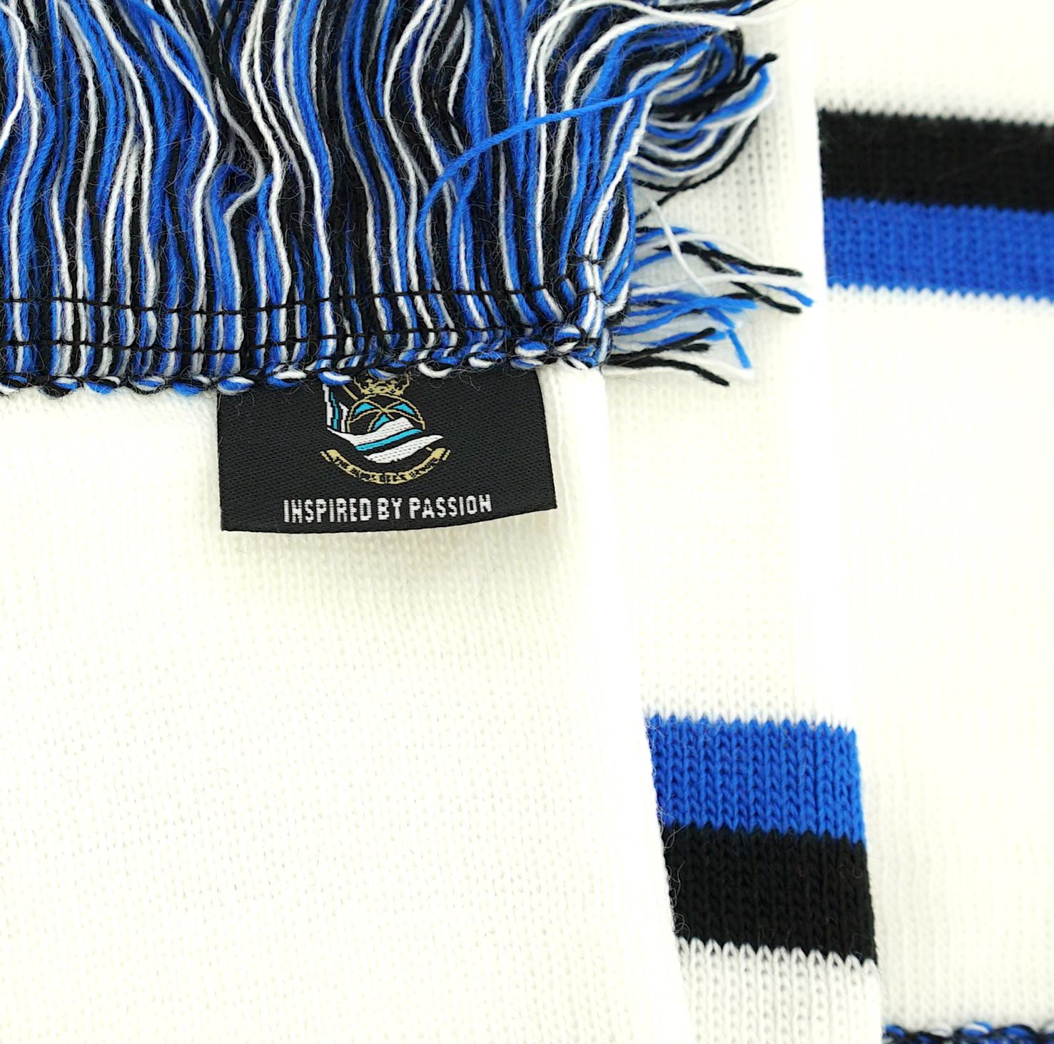 Blokkensjaal wit -  Blues FCB