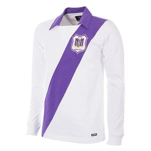 RSC Anderlecht 1962 - 63 Retro Football Shirt