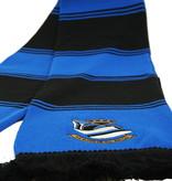 Blokkensjaal blauw