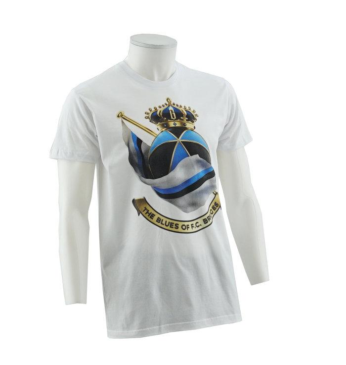 T-shirt blanc - logo