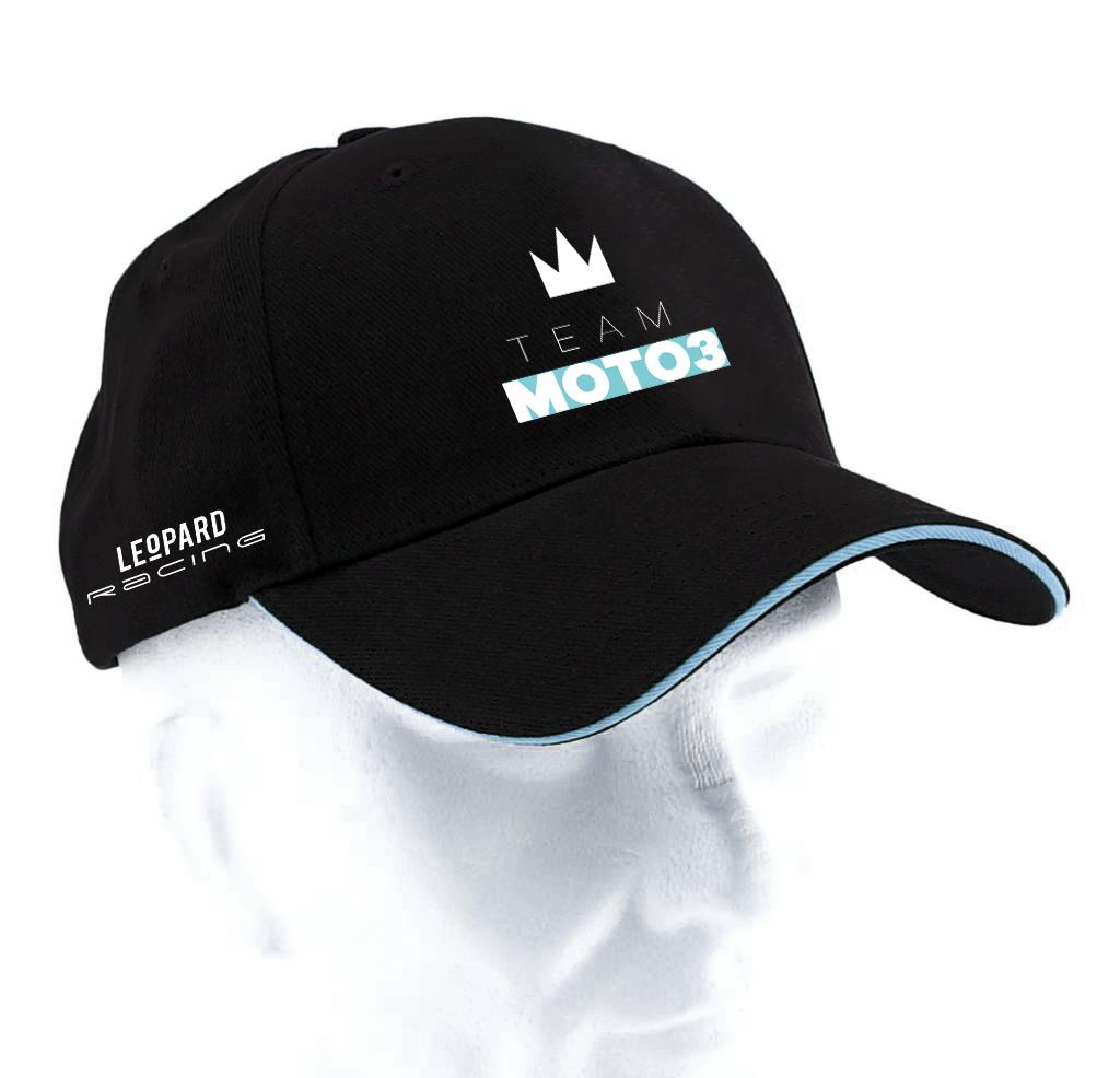 Cap black Team Moto3