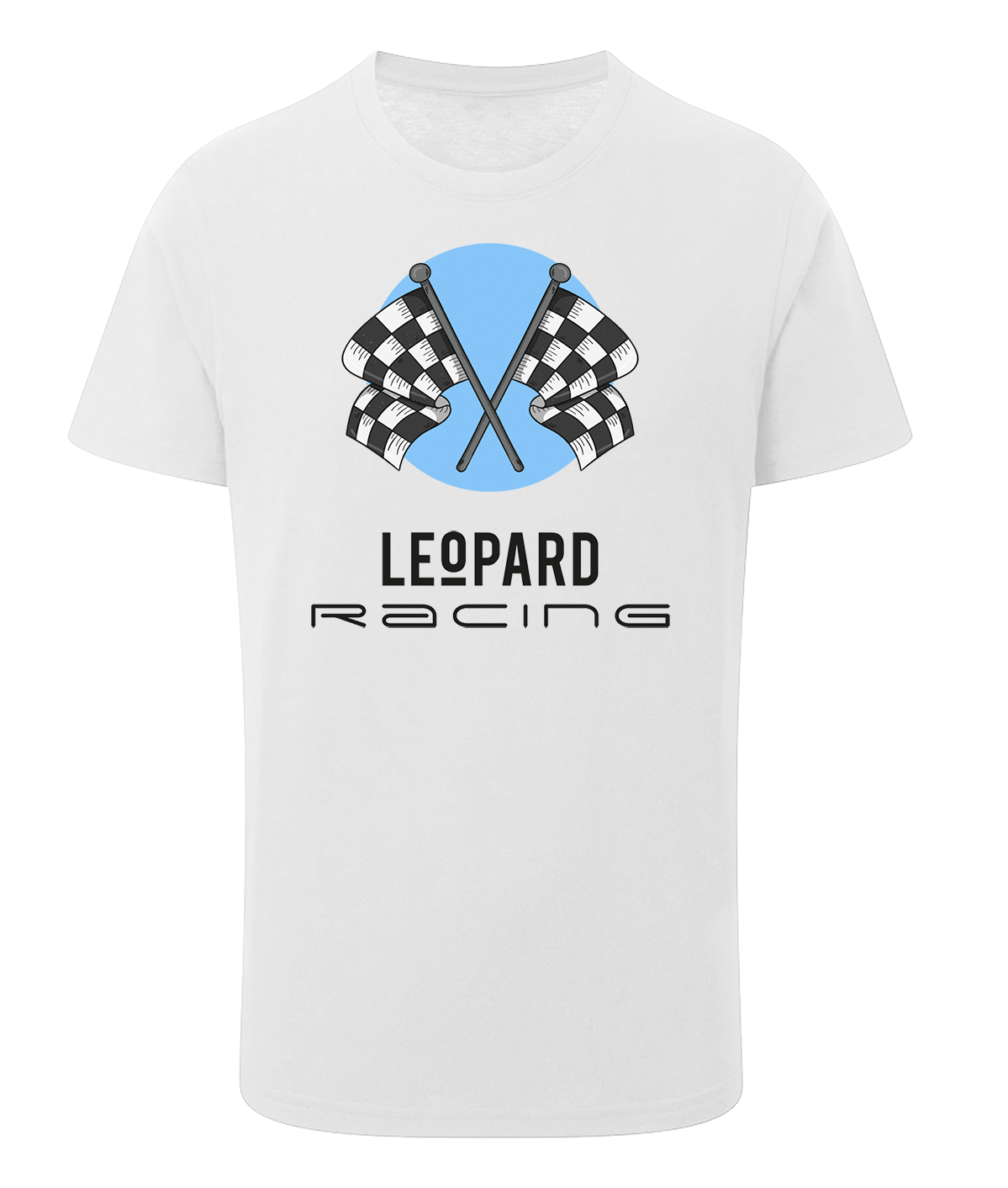 T-shirt Checkered flags