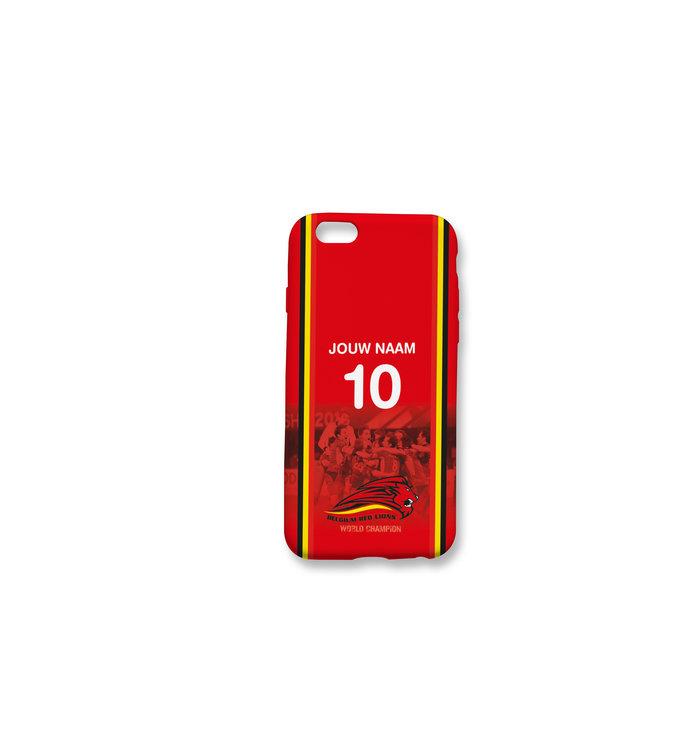 Gepersonaliseerde telefoonhoes Red Lions