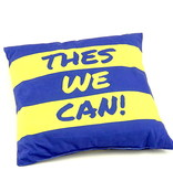 Coussin logo/Thes We Can