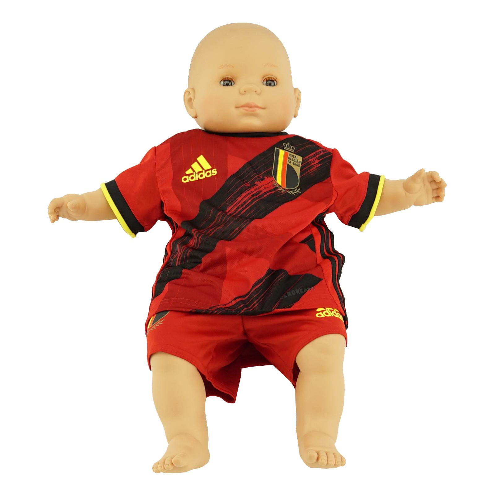 Maillot Diables Rouges Euro 2020 Domicile Bébé