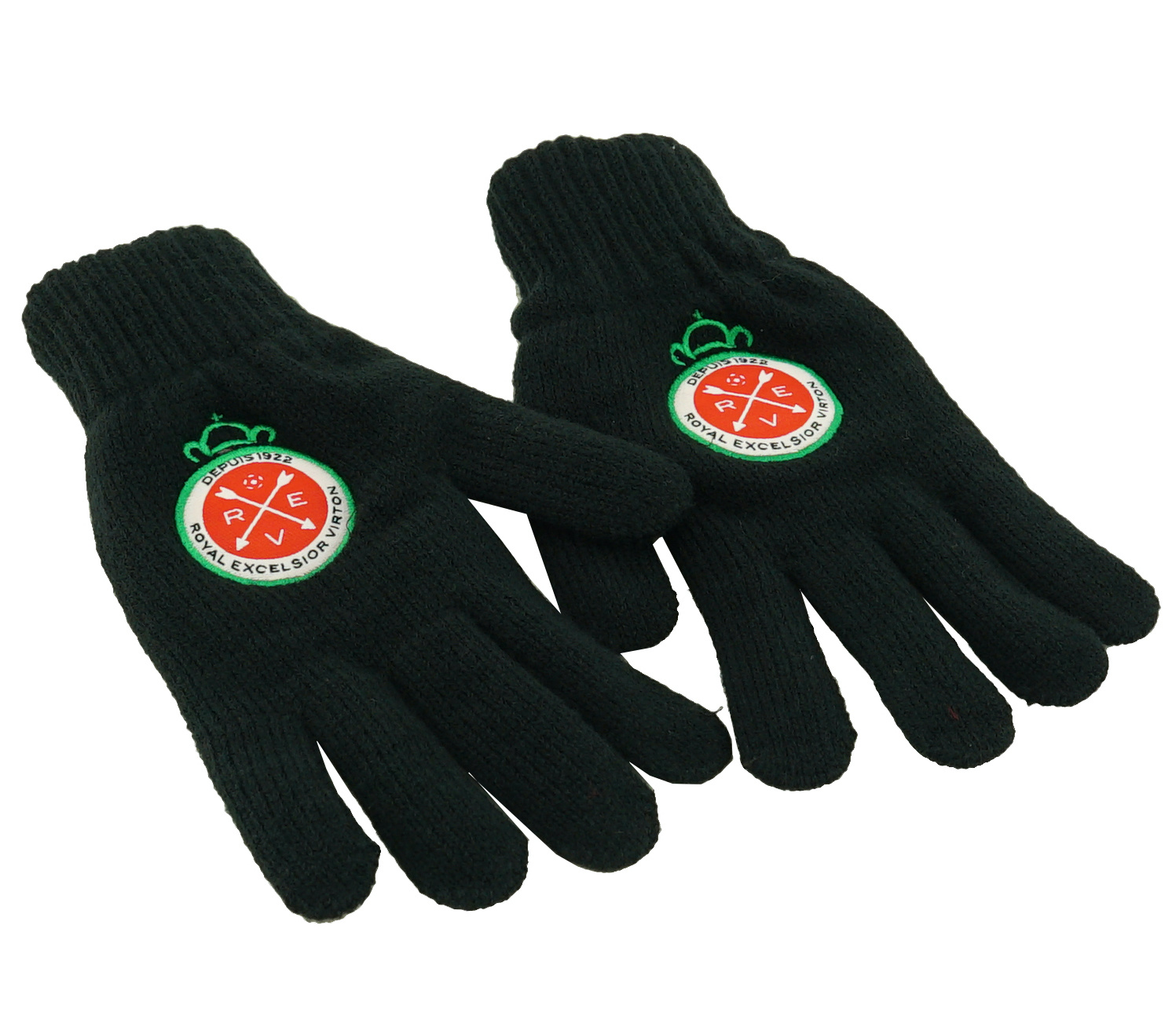Handschoenen zwart - L