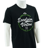 T-shirt black logo Virton