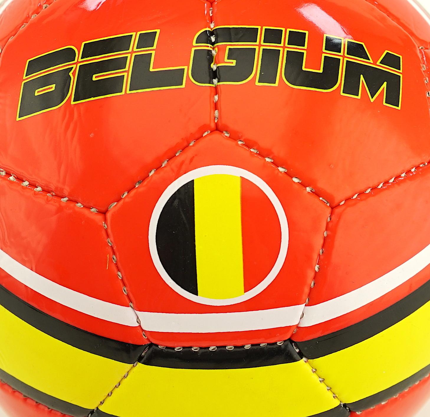 Football red Belgium